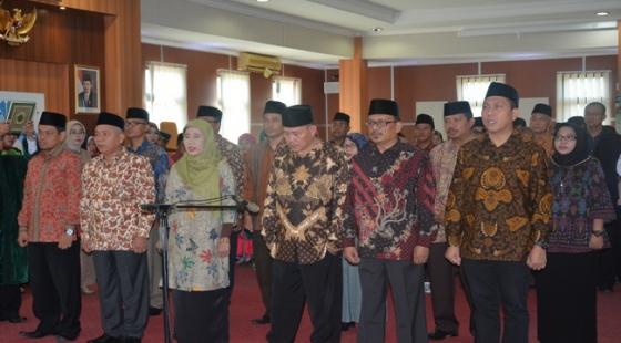 Pelantikan Wakil Rektor, Dekan dan Direktur Pascasarjana